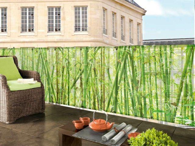 Sichtschutz für Balkon 30 funktionale und stilvolle