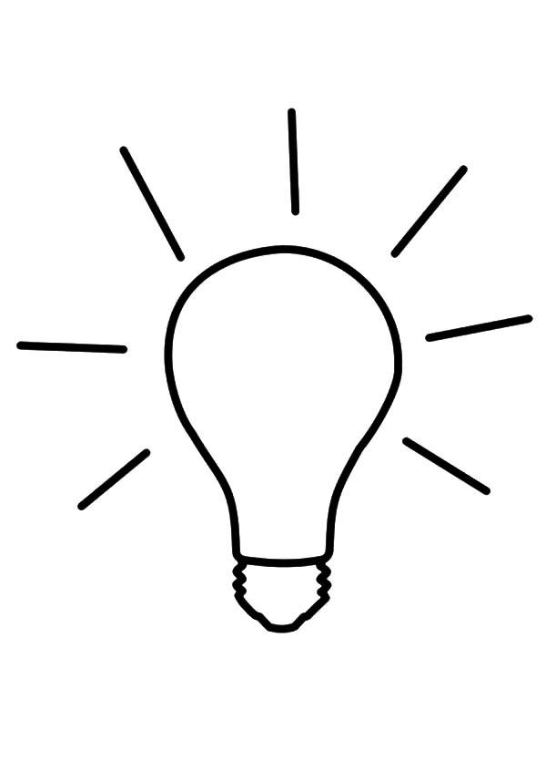 Idea Light Bulb Coloring Pages Download Print Online Coloring Pages For Free Color Nimbus Coloring Pages Online Coloring Pages Online Coloring