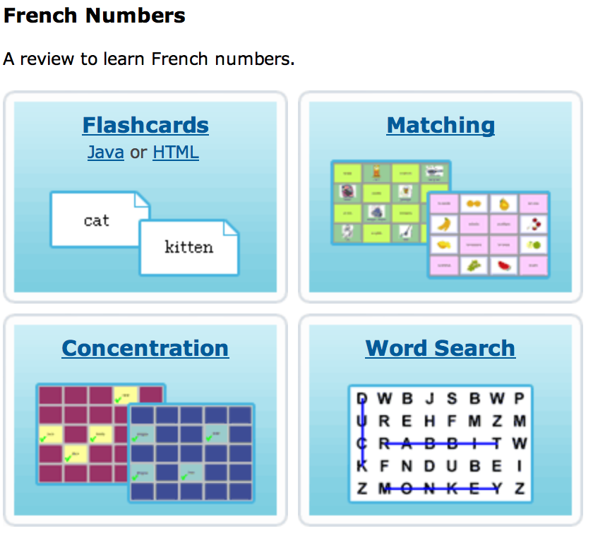 //www.quia.com/shared/french/ Fun games to help you ... on states and numbers, usa capitals, states claim to fame, raleigh capitals, states and flags, states in the us, states and governors, tricks to remember state capitals, us state capitals, states and flowers, states of america, states and caps, states and names, states and postal codes, states and cities, names of state capitals, states and maps, states with capitals, states and lakes, states and abbreviations,