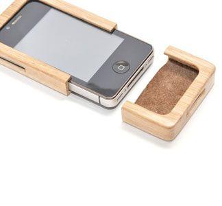 Wood iPhone Case.