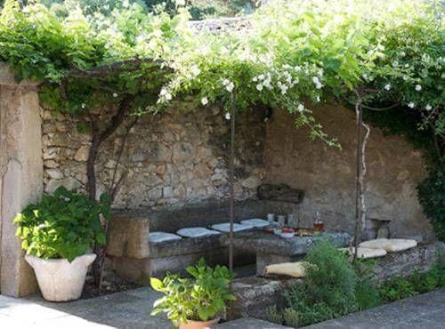 aprende a decorar un patio rsticoa quien no le gusta estar al aire libre en cualquier poca del aoincluso en poca de invierno - Como Decorar Un Patio
