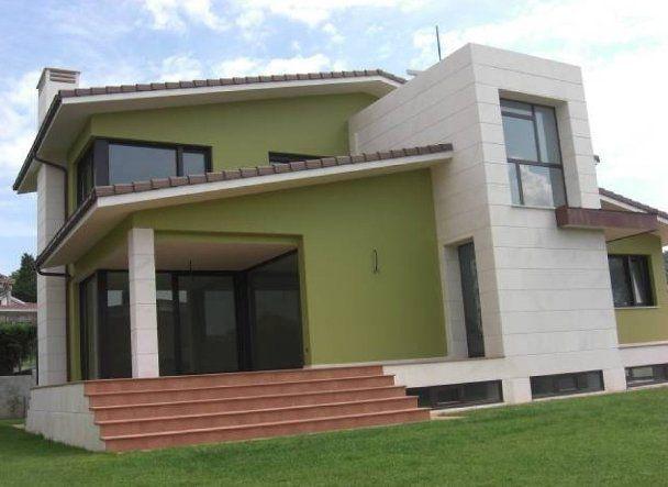 Colores de fachadas de casas coles de casa pinterest - Fachadas de casas pintadas ...
