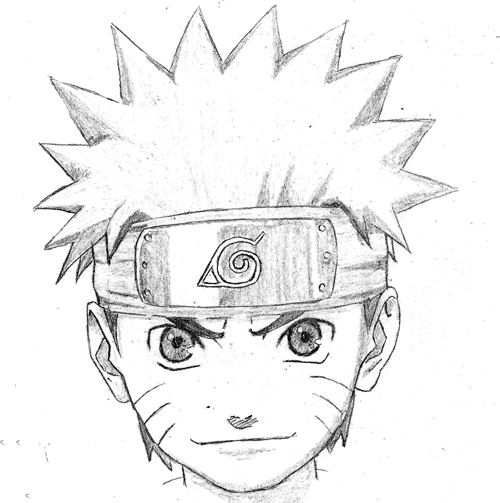How To Draw Naruto By Howtodrawitall On Deviantart Naruto Drawings Naruto Sketch Naruto Drawings Easy
