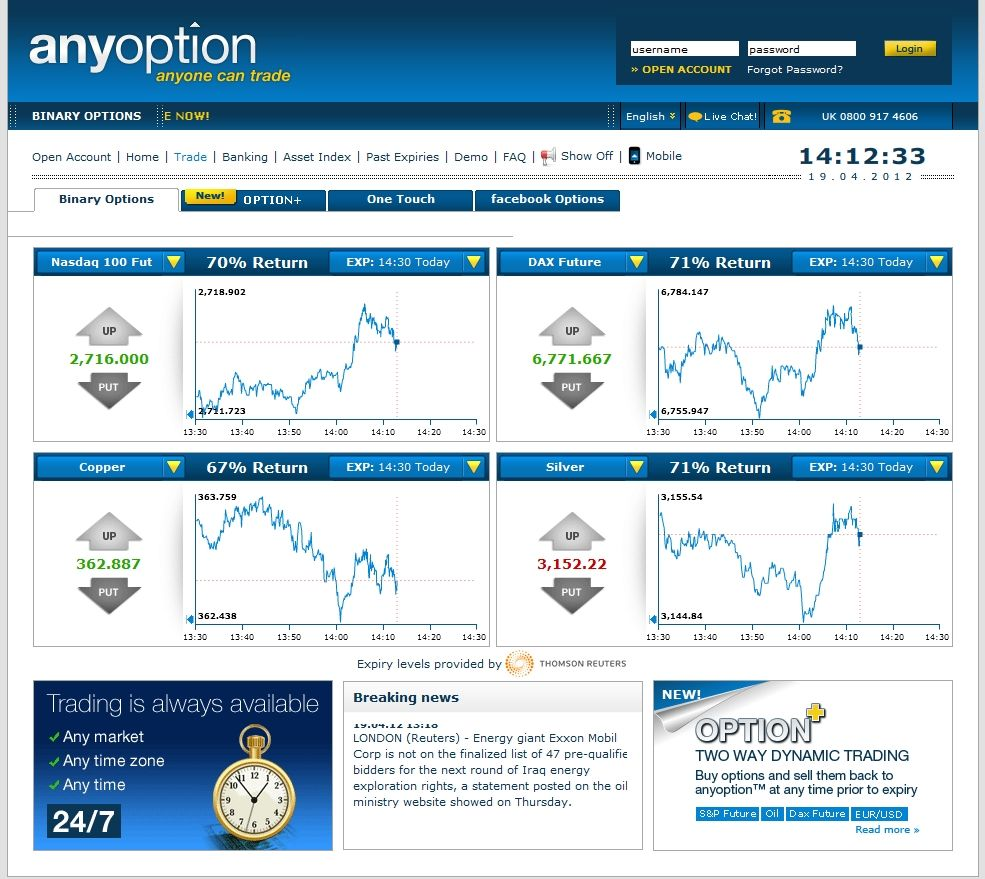 Get free binary options signals software