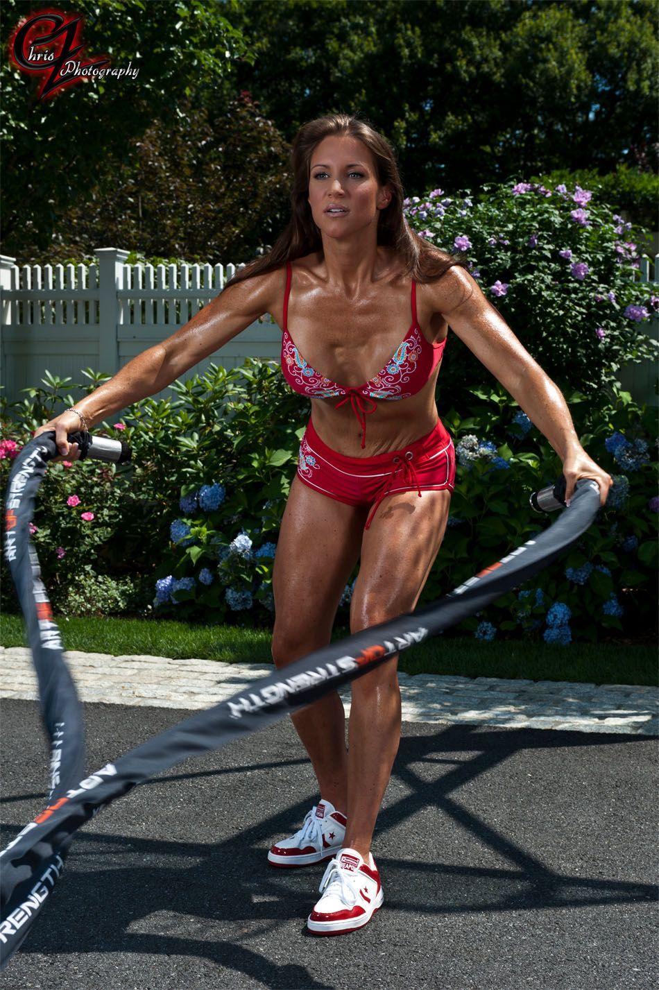 37c91f3735 Stephanie McMahon's bikini workout | hotties | Stephanie mcmahon ...