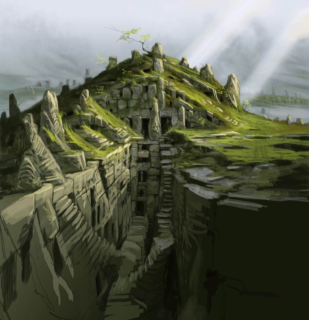 the guide to open world environment design