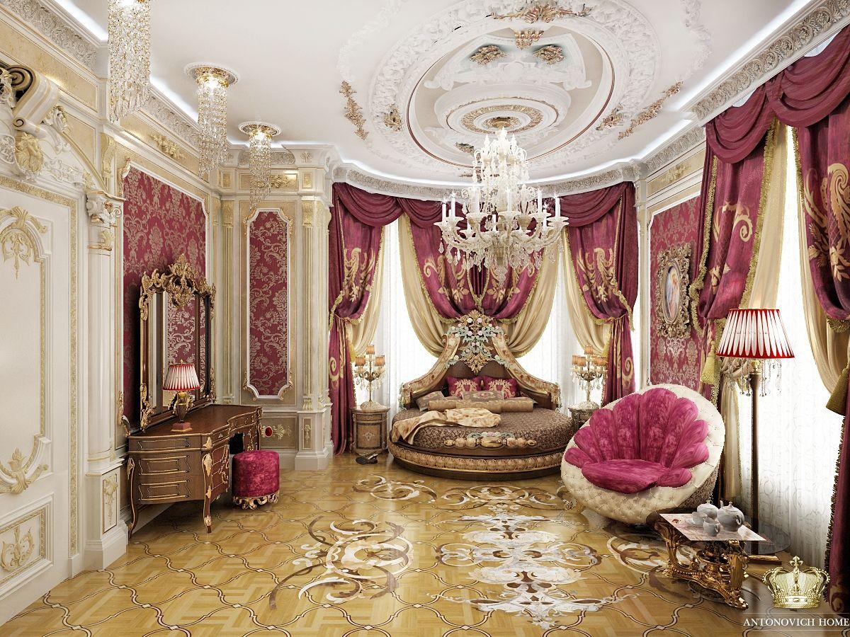 итальянский дизайн | Спальня в 2019 г. | Interior lujoso ... Роскошные Дома в Стиле Барокко