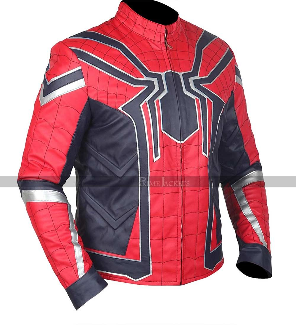 Spider Man Jacket Avengers Infinity War Iron Spider Jacket