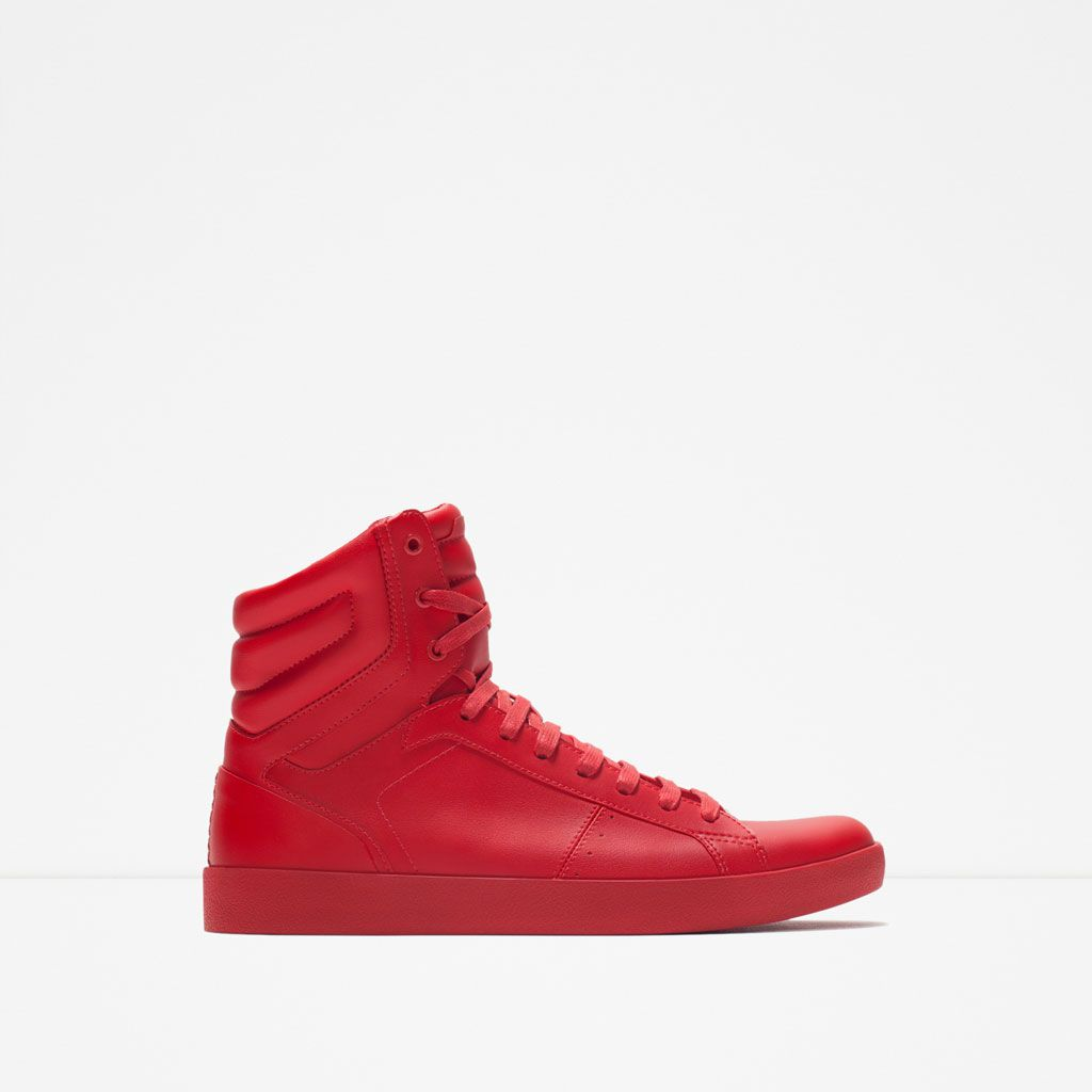 BLOCK COLOUR HIGH-TOPS