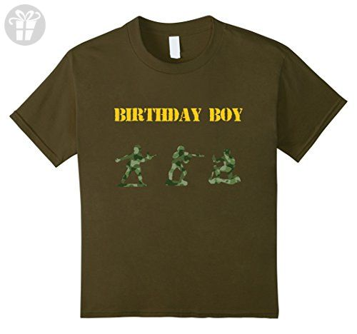 Kids Army Birthday Party, Army Party Supplies, Army Decorations 8 Olive - Birthday shirts (*Amazon Partner-Link)