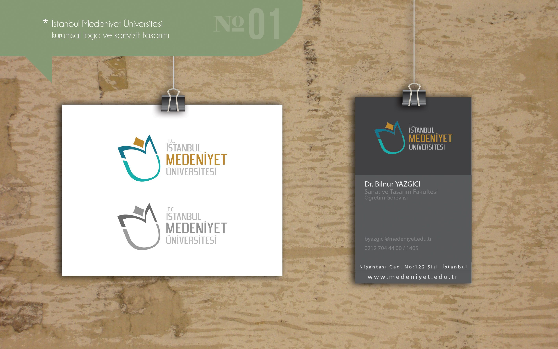 İstanbul Medeniyet Üniversitesi kurumsal kimlik tasarımı