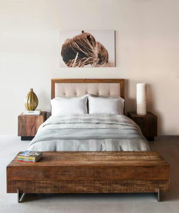 Big Sur Bed Leblon End Table Beam Coffee Table Environment Furniture Mobilier