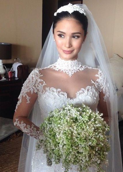 Bride Heart Evangelista   Pinay Brides   Pinterest