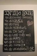 Chalkboard family-togetherness