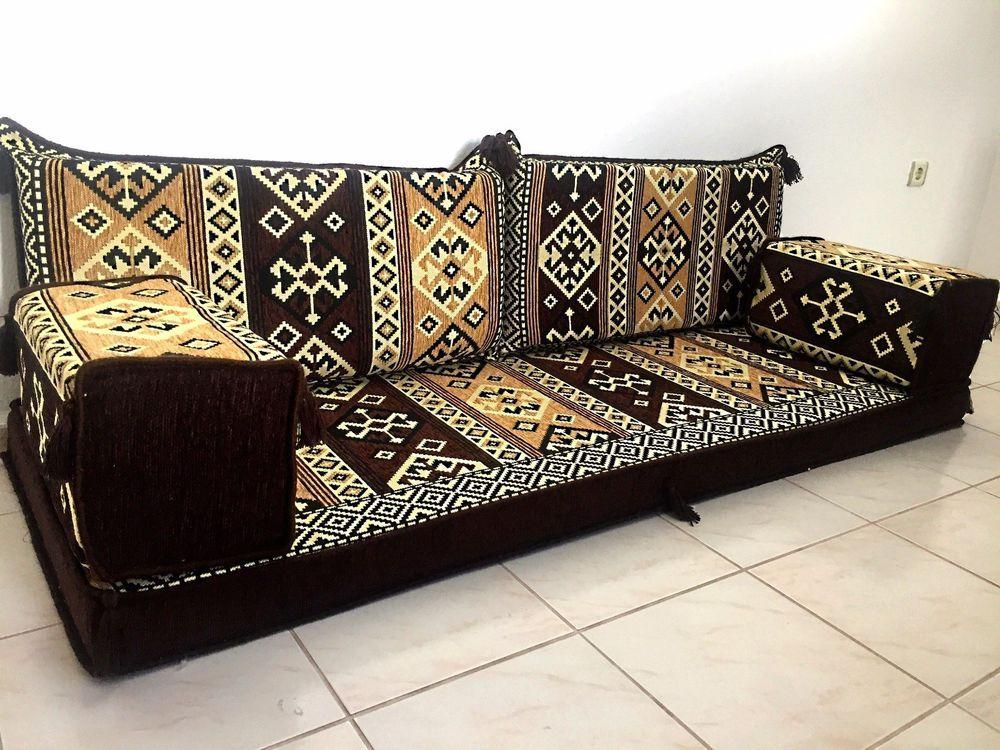 Floor Seating Arabic Jalsa Arabic Seating Arabic Cushion Floor Couch Ma 9 Handmade Traditional Floor Couch Floor Seating Traditional Living Room Furniture