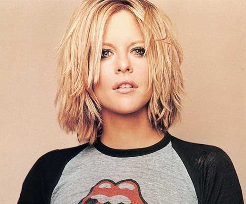 40 Gorgeous Layered Haircuts For Fancy Look Meg Ryan Short