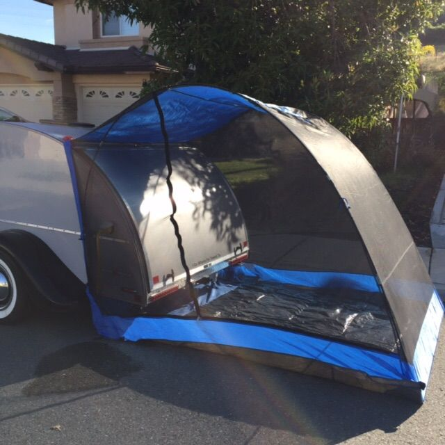 Tailveil fit with 6x10 silver Shadow