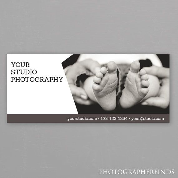 Photographer Facebook Cover Photo Template - Newborn Baby Facebook ...