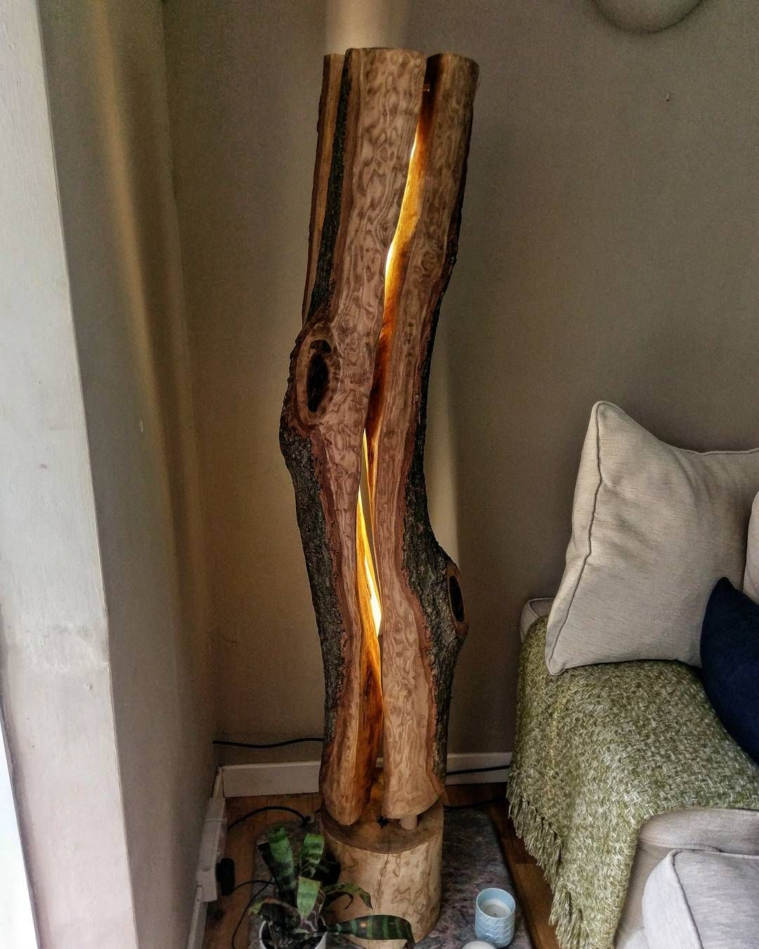 Swedish Torch - Floor Lamp - Woodworking - Design
