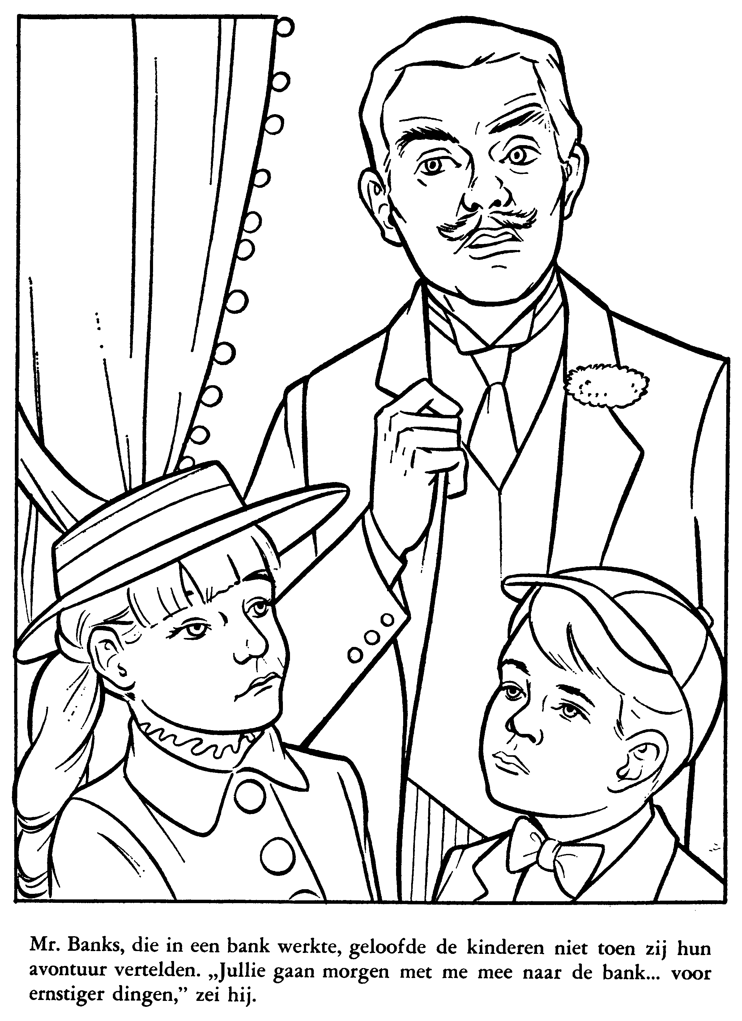 mary-poppins-01-08.png (2400×3300) | colouring sheets | Pinterest ...