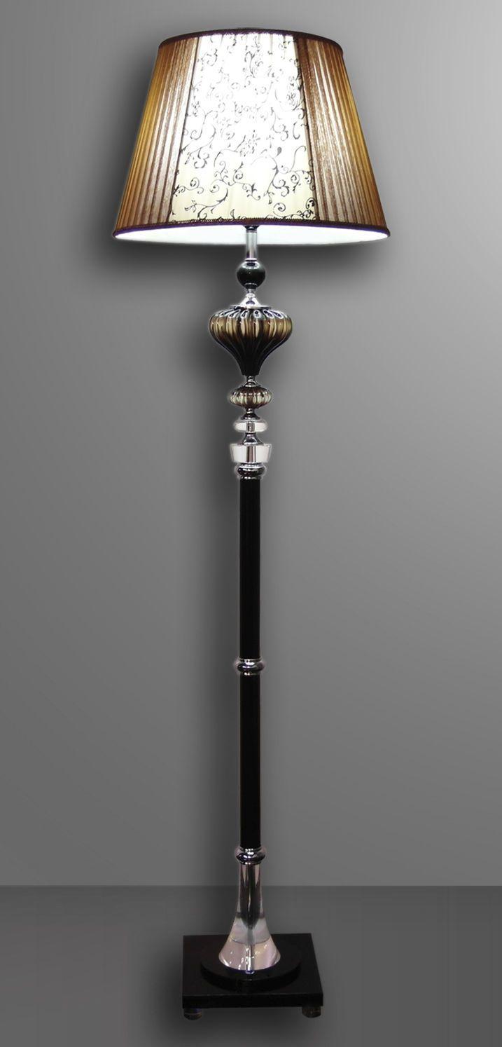 Traditional floor lamp crystal VENUS