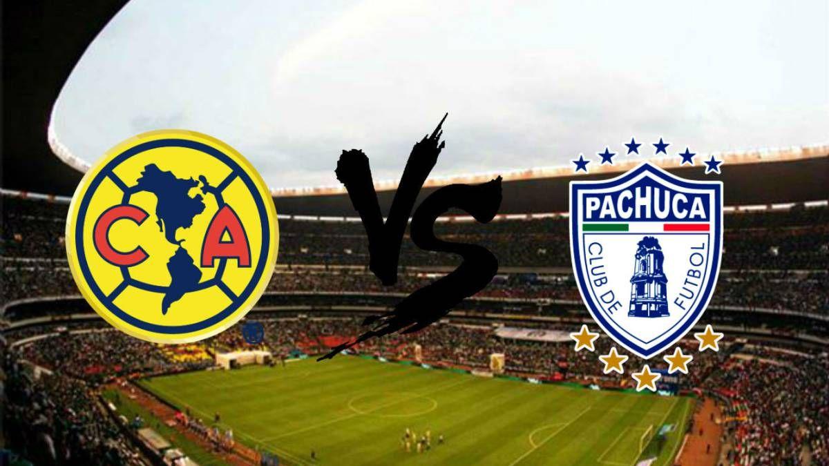 Ver America Vs Pachuca En Vivo Liga Mx Clausura 2018 Online Sport Team Logos Juventus Logo Team Logo