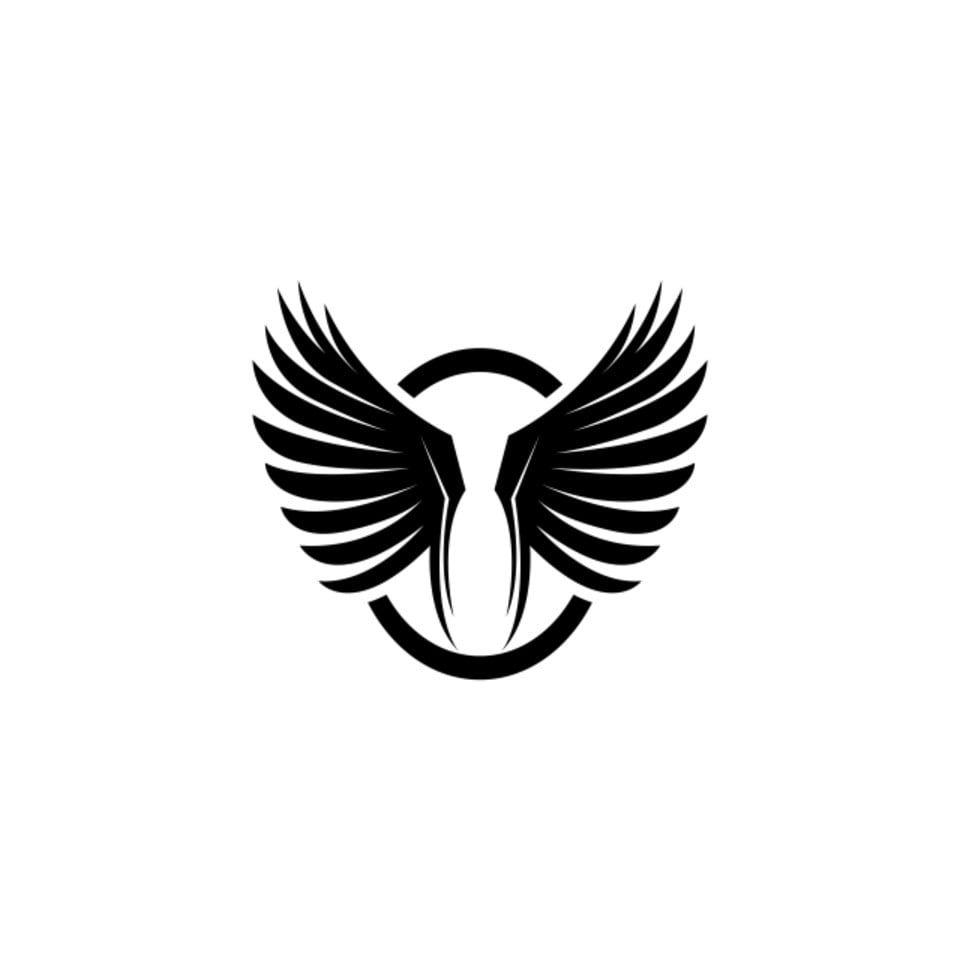 Wing Bird Logo Template Vector Logo Icons Bird Icons Template Icons Png And Vector With Transparent Background For Free Download Bird Logos Wings Icon Logo Icons