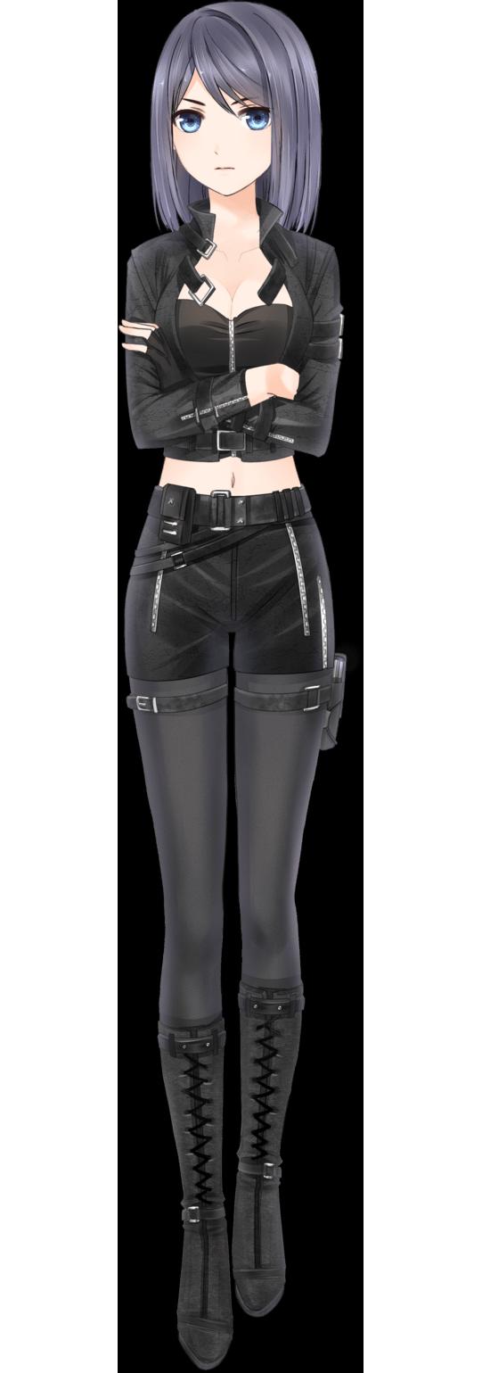 anime girl outfit badass