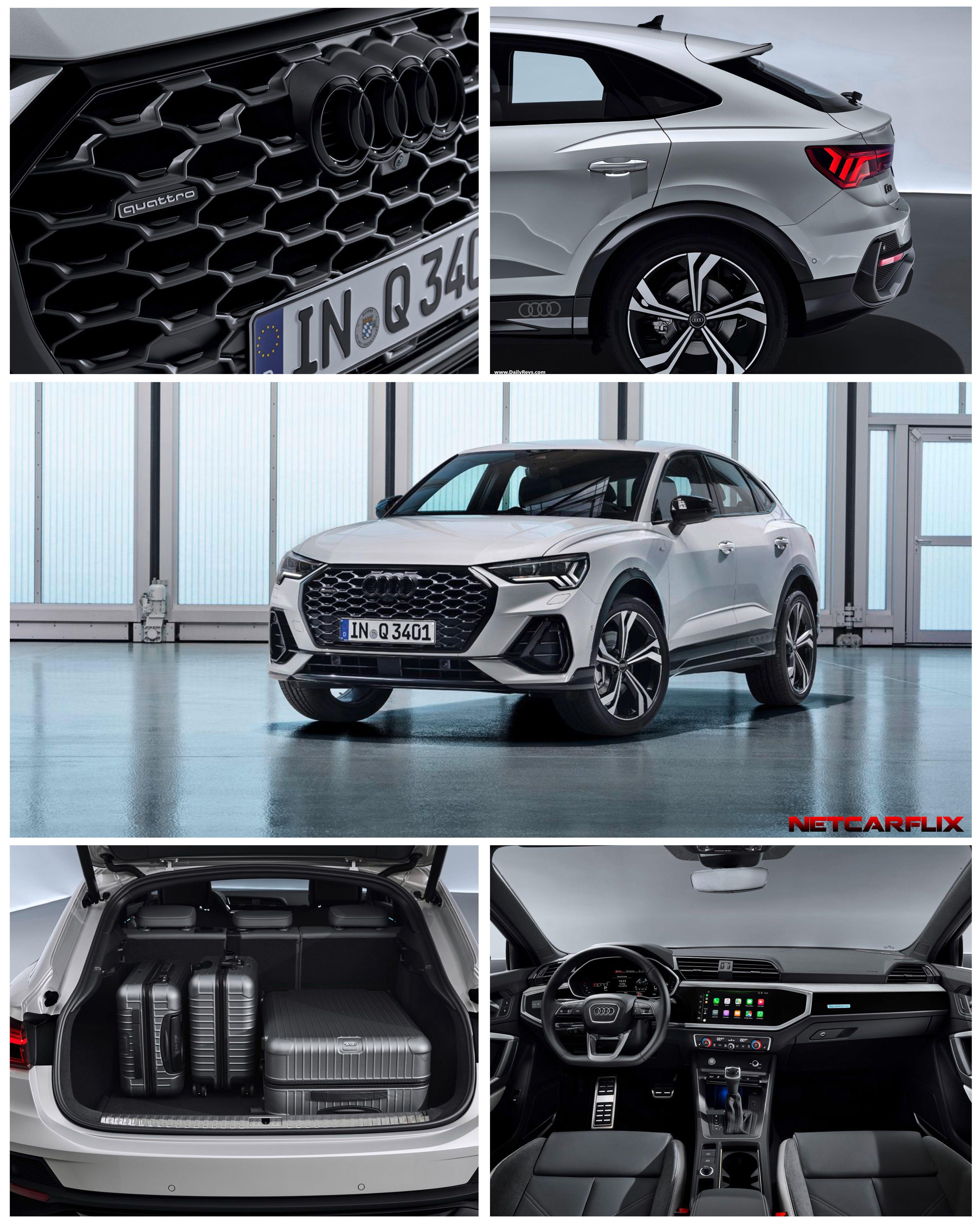 2020 Audi Q3 Sportback Hq Pictures Specs Information Videos Dailyrevs Audi Q3 Audi Car Models Audi