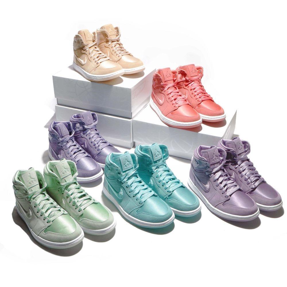 4669968d9b283b Nike Wmns Air Jordan 1 Retro High Soh Season Of Her Women AJ1 Sneakers Pick  1  AirJordan  Jordan