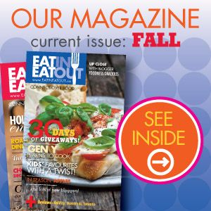 Eat In Eat Out Magazine   Loads of Must Makes and Must Reads. (Bring on winter).