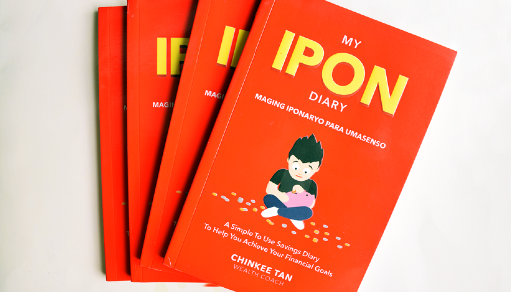 My Ipon Diary By Chinkee Tan Review Giveaway Diary Book Giveaway Tan