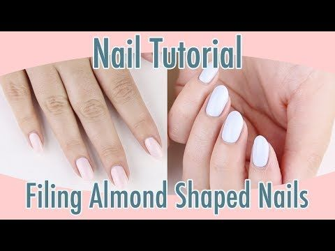Nail Tutorial: Filing Almond Shaped Nails | Nails Millie Magazine – Beauty