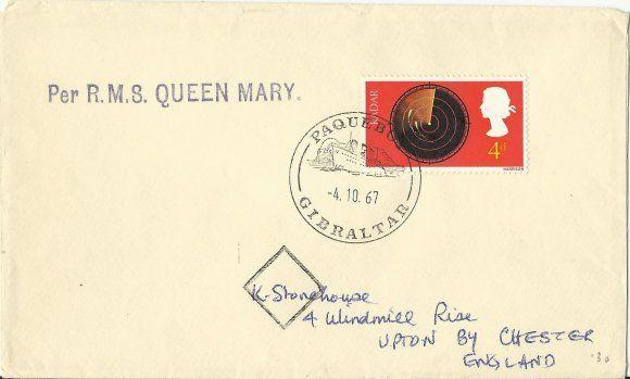 A bordo del Queen Mary... de la colección Fernando Martínez