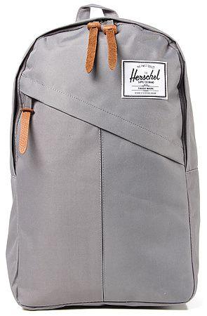 The Parker Backpack in Grey by Herschel Supply   Karmaloop ... 210d86678f