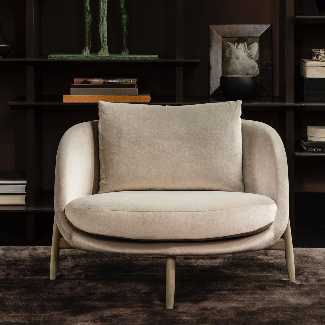 Heath Armchair Large Catalogue Luxury Lounge Furniture