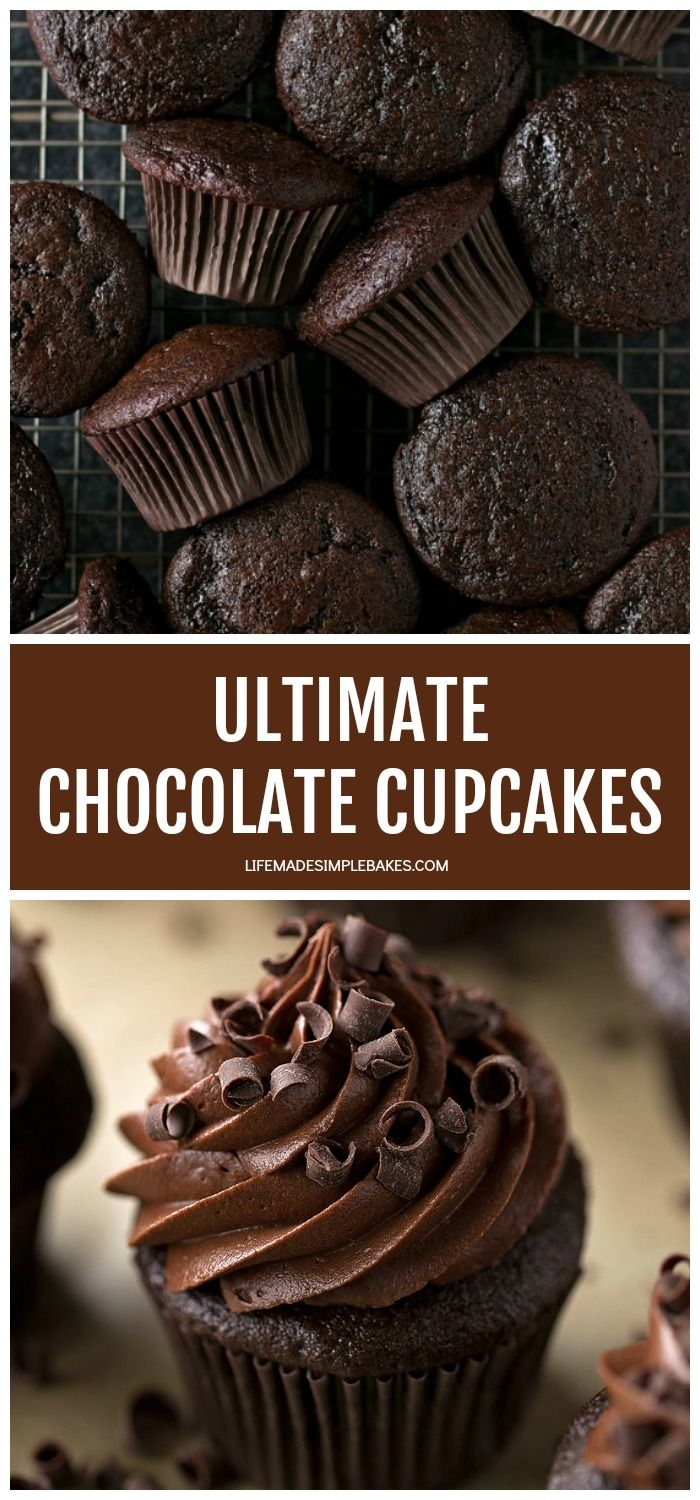 Ultimate Chocolate Cupcakes - Life Made Simple