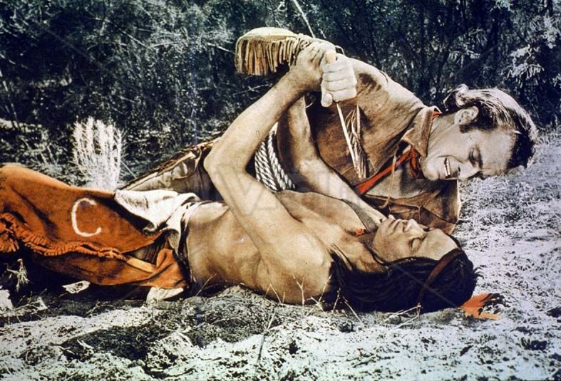 pony express 1953   Foto Cinema Pony Express 1953 Western Charlton Heston Rhonda Fleming ...