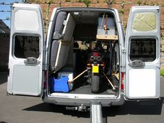 Ford Transit Stealth Camper With Built In Motorcycle Garage No Need For Commuter
