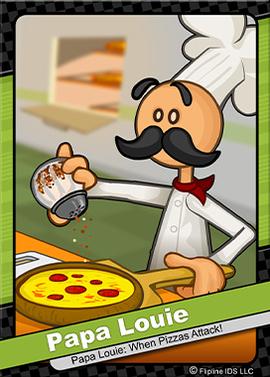 Papa Louie Louie Papa Pizza Delivery Boy