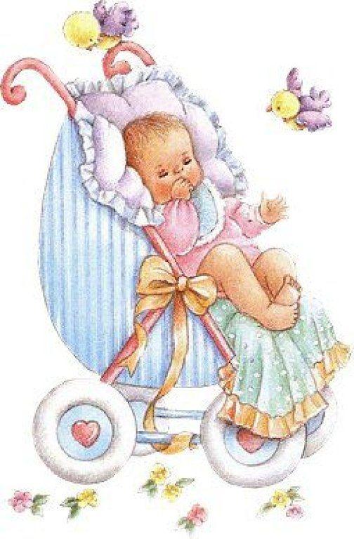 Младенцы в колясках открытка, пасхальными яйцами поздравительную