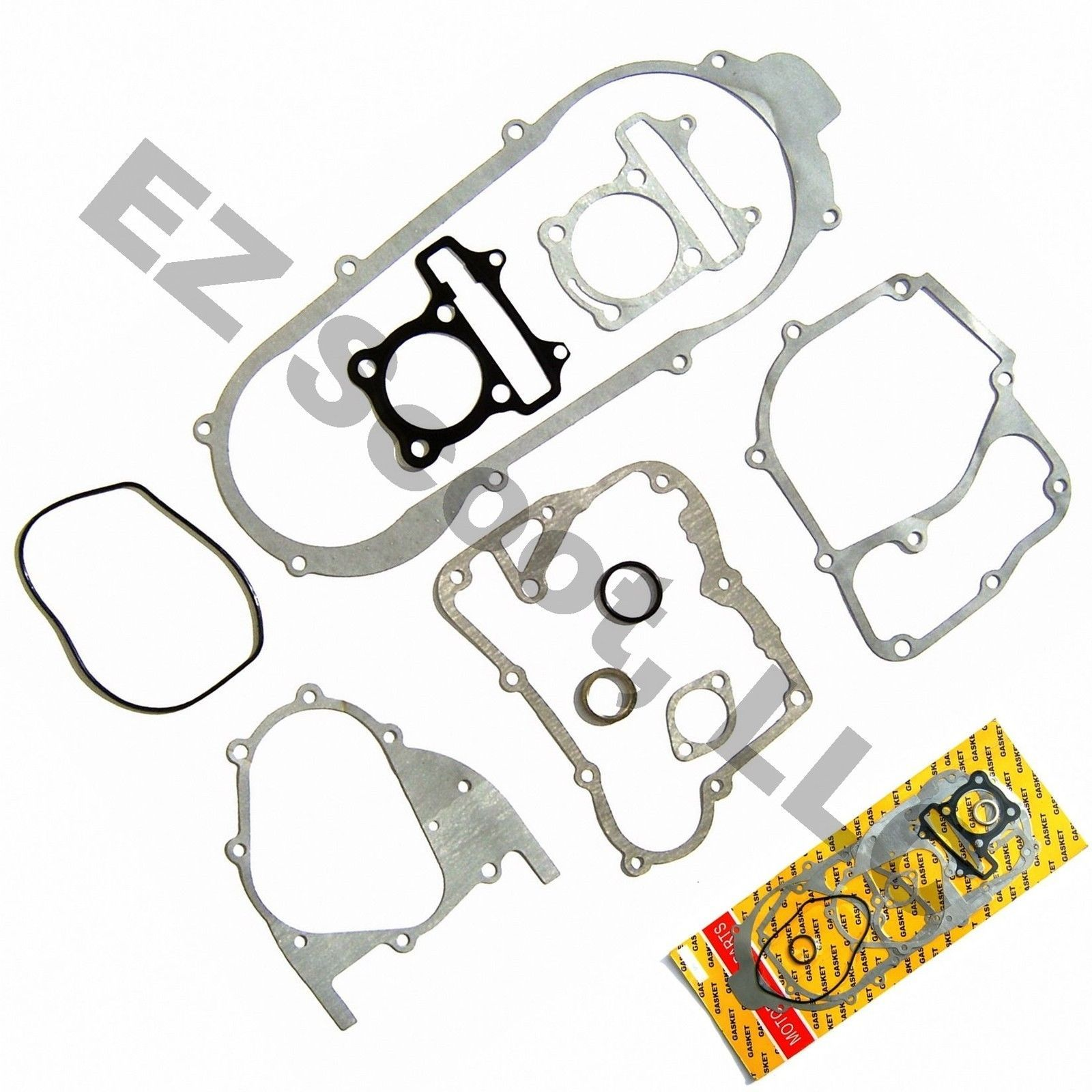 Complete Engine Gasket Set 152qmi 16 Gy6 4t Chinese Scooter Moped Peace Vip Jcl Chinese Scooters Scooter Moped