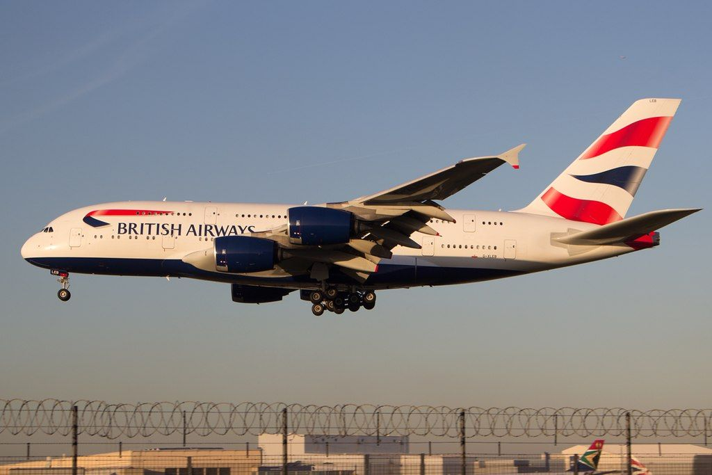 British Airways Fleet Airbus A380800 Details and Pictures