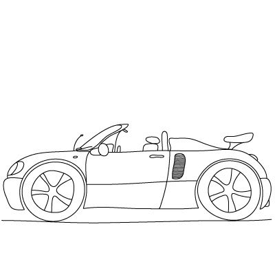 How To Draw Sports Cars And Other Things Kiddos Games Crafts