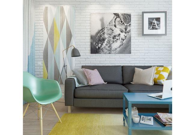Apartamento na Rússia revela décor que não se limita ao tamanho