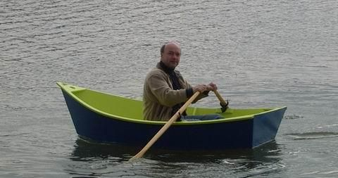 a.b.b. - amateur boat building news - folding dinghy