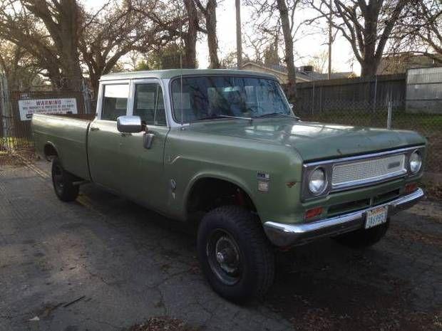 Sorted Workhorse: 1971 International Harvester 1210 4X4