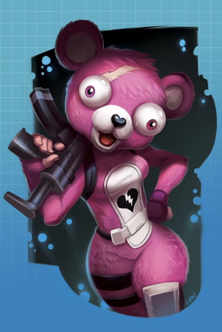 Fortnite Cuddle Team Leader Disney Concept Art Gaming Wallpapers Concept Art