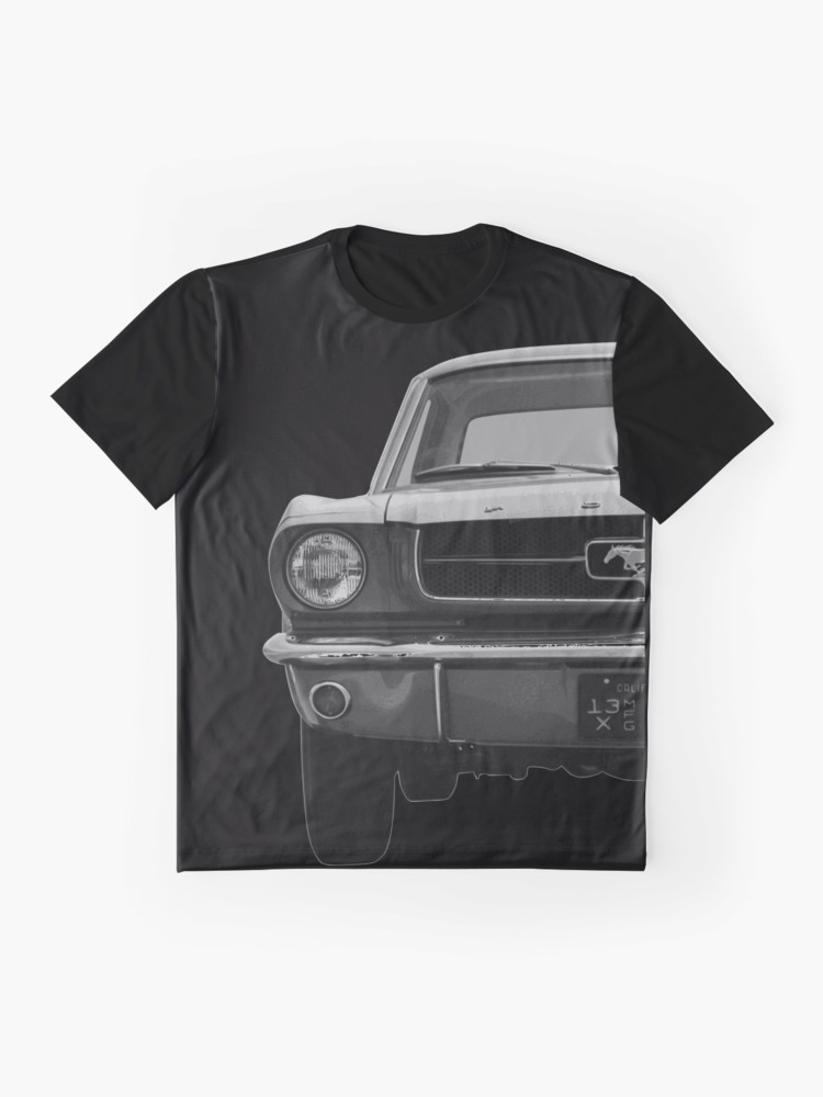 Ford Mustang T-Shirt Kalifornien 1968    - Fashion T-Shirts for Europe and USA my Spreadshirt and S