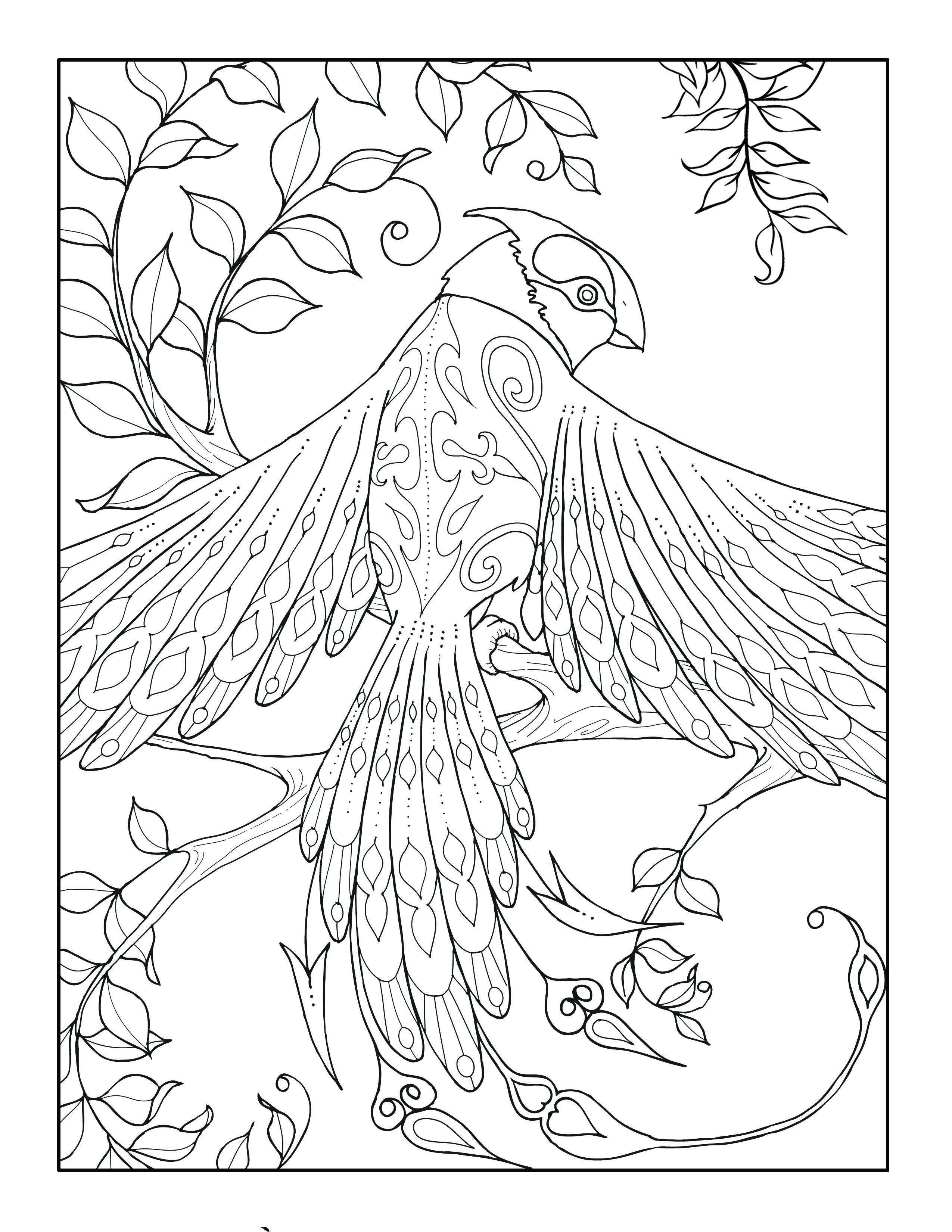 Luxe Image à Colorier Sirène